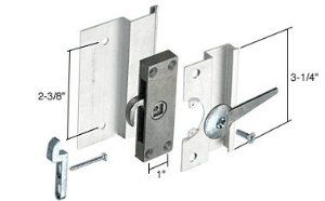 Sliding Screen Latch And Pull 2 3 8 Screw Holes With Mortise Lock By C R Laurence 10 71 This Sliding Door Hardware Aluminium Sliding Doors Door Hardware