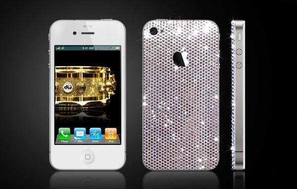 Swarovski Crystals Iphone 4 Cover By Crystalroc Iphone