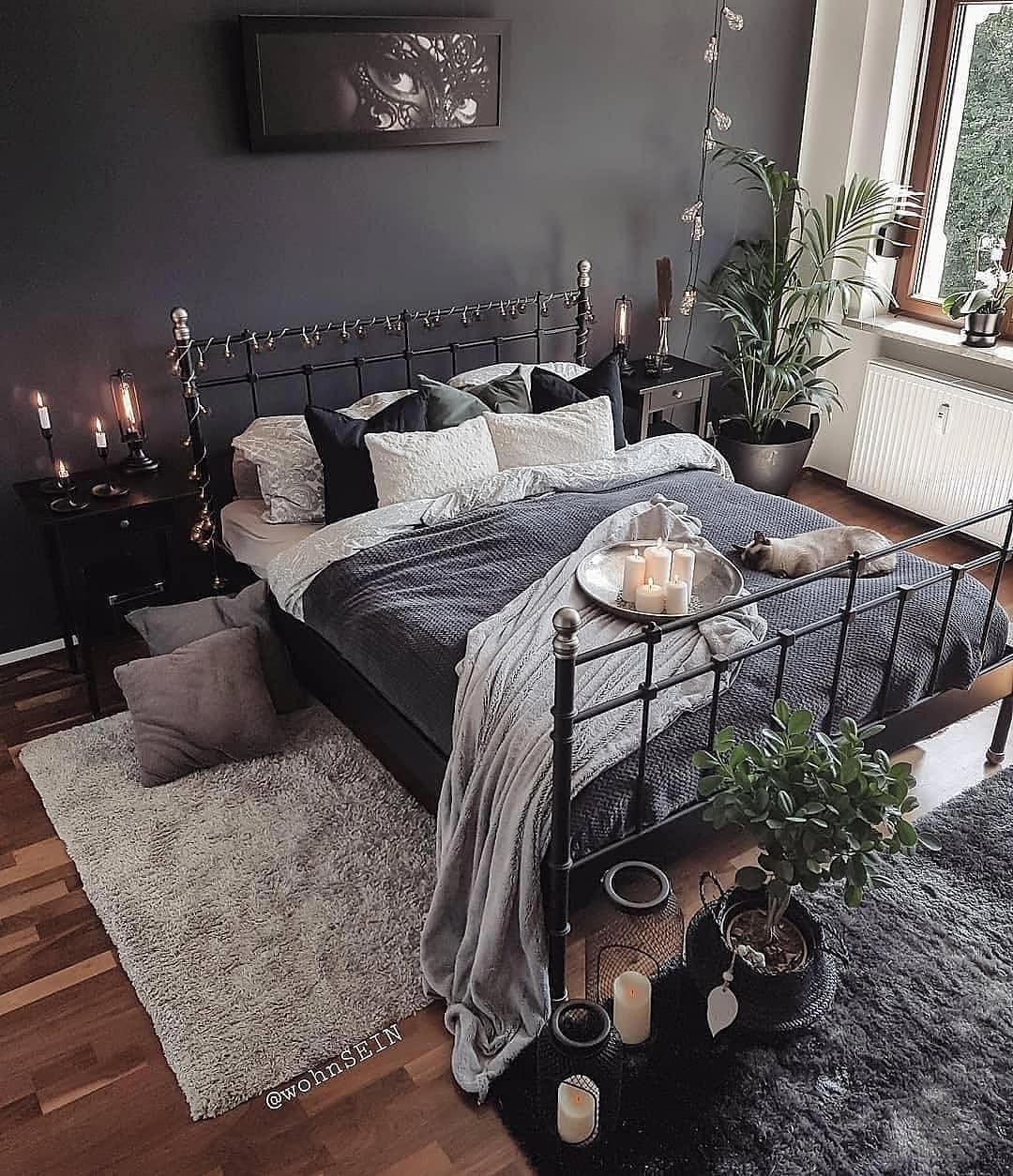 What S Hot On Pinterest 7 Bohemian Interior Design Ideas Minimalist Apartment Decor Cozy Bedroom Warm Home Decor Bedroom Warm bedroom ideas pinterest