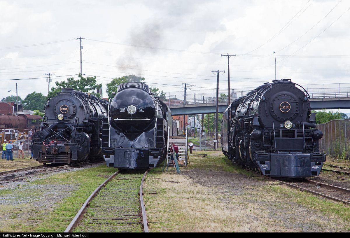 Net Photo: N&W 2156 Norfolk & Western Steam 2-8-8-2 at Roanoke, Virginia by  Michael Ridenhour