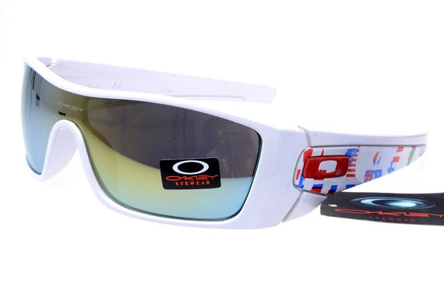 Oakley Fuel Cell Sunglasses White Frame Steelblue Lens is the latest ...