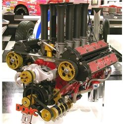 Chevrolet V 8 Small Block Moser Dohc Museum Of American Speed