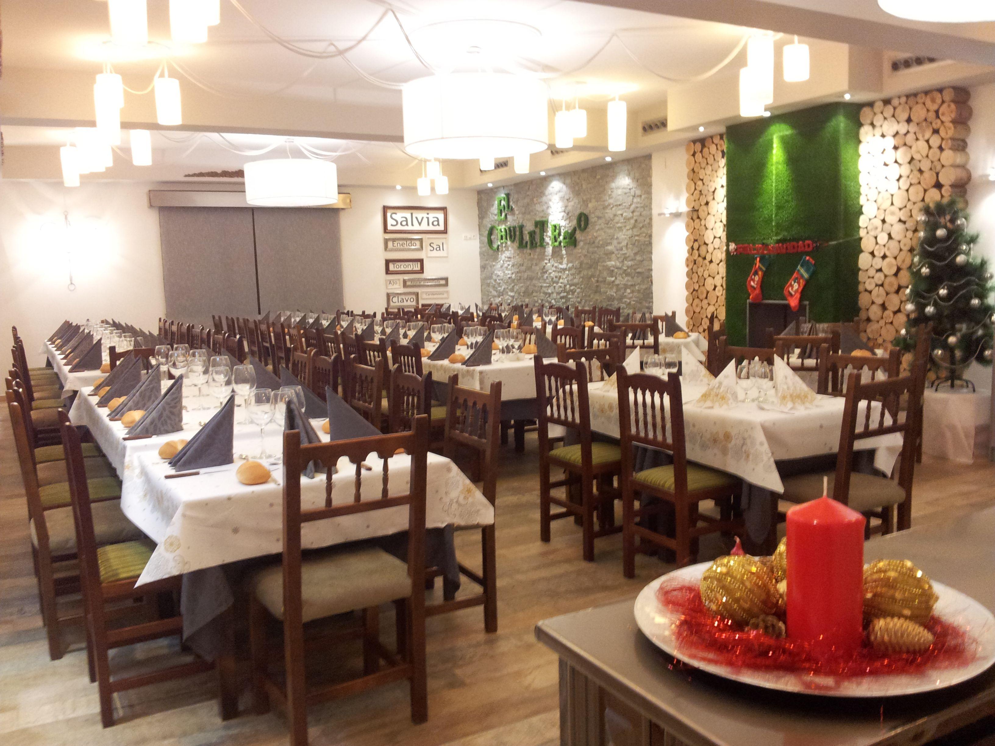 Esperando la #Navidad en Restaurante el Chuletero #Mota del Cuervo.