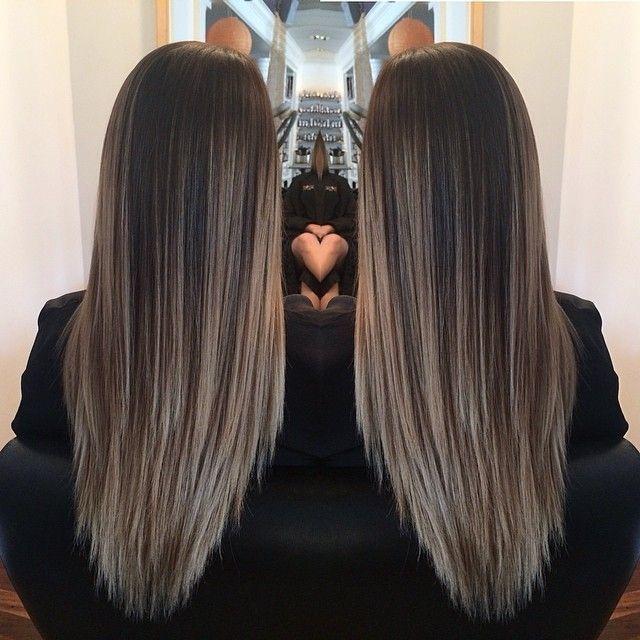 Hair Color Ideas For Brunettes Hairbyjs Single Photo Instagrin Hair Styles Long Hair Styles Gorgeous Hair