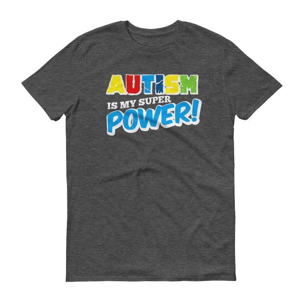 Men's Autism is my superpower - Autism Awareness T-Shirt