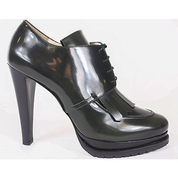 Pre-owned - Black Leather Heels Emporio Armani GVrl2j