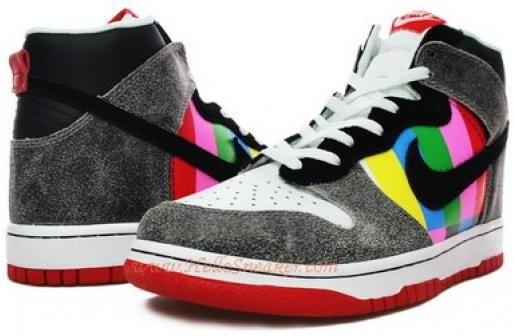 http://www.asneakers4u.com 316293 061 Nike Kids Dunk High Channel Zero Black Varsity Waize K010693