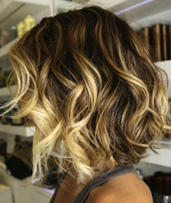My Next Look Loose Waves Made With A Big Barrel Curling Iron Hair Styles Short Hair Styles Beachy Hair