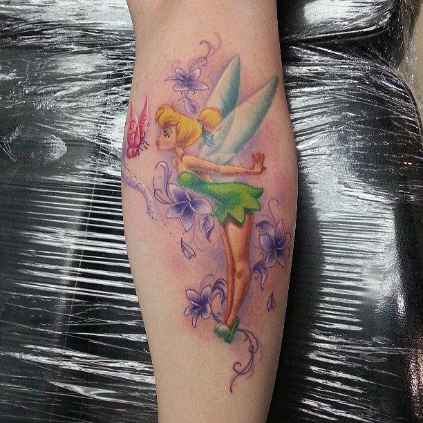 Fairytattoo Tinkerbell Disneytattoo Bostontattoo Tattoo