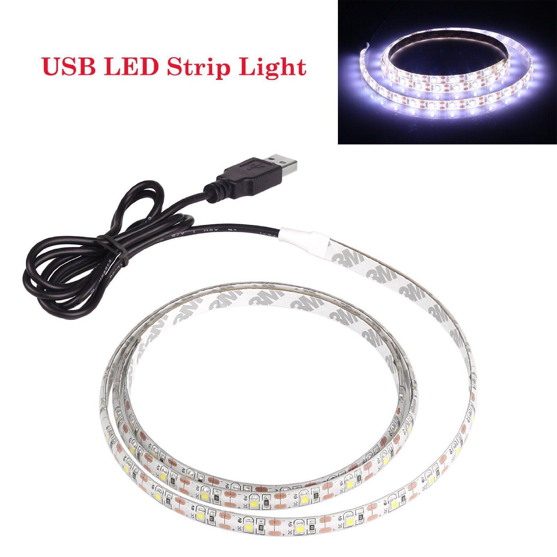 Amazon.com: Lemonbest 2m Resin Flexible USB LED Lights Strip Ribbon ...