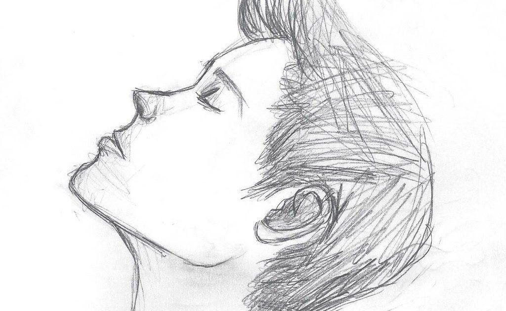 Boy Hair Drawing Step By Tutorial Easy Hairstyles Side View Sporty Hairstyles F Boy In 2020 Short Hair Drawing Step By Step Hairstyles Boy Hairstyles