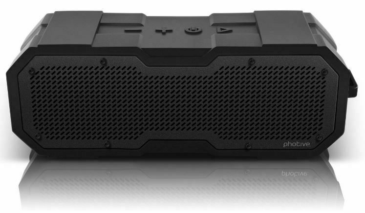 Photive Cyren Ii Portable Waterproof Dustproof Rugged Wireless Bluetooth Speaker Wireless Speakers Bluetooth Waterproof Bluetooth Speaker Waterproof Speaker