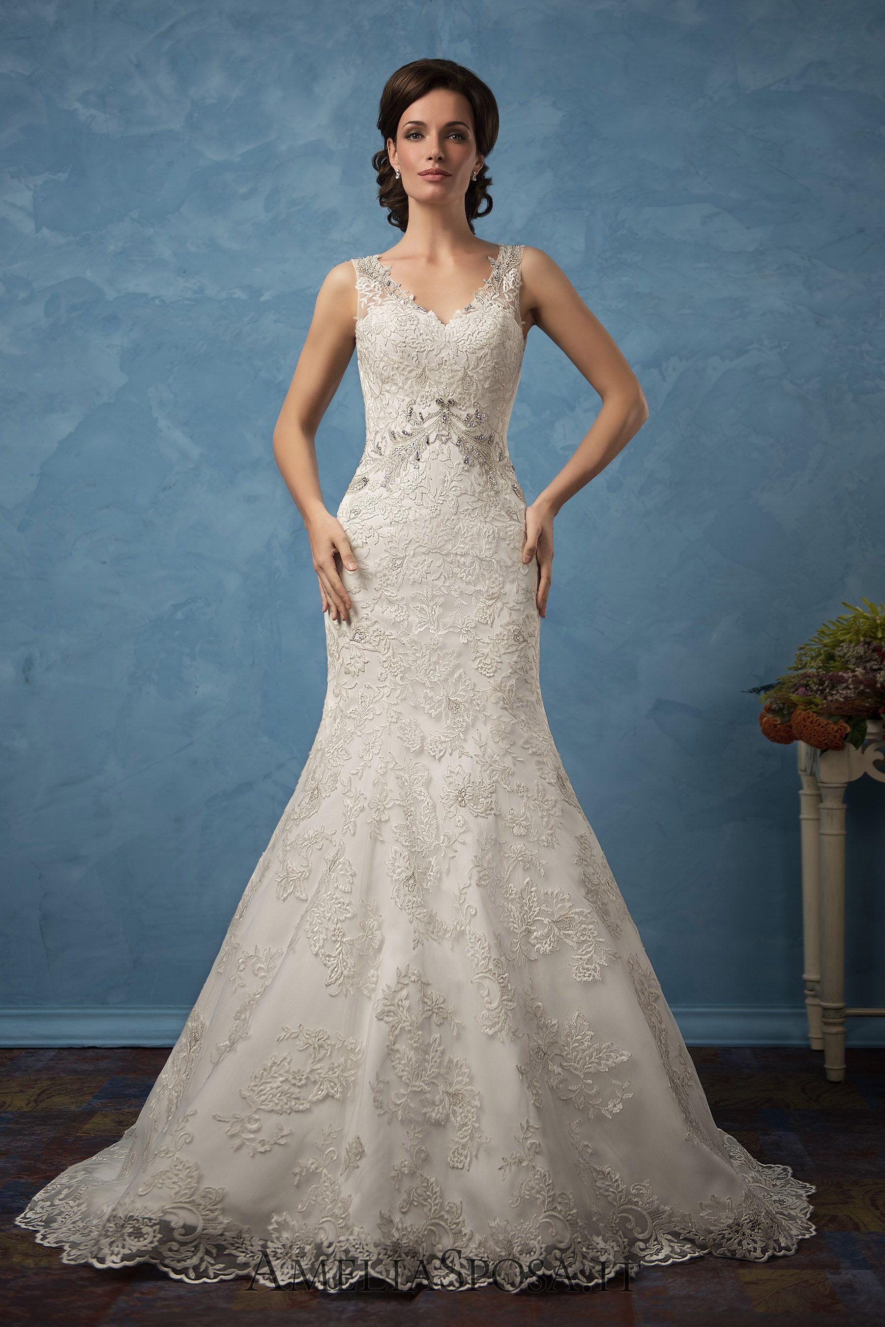 Wedding Dress Sharon, Silhouette: Mermaid | All About Weddings ...