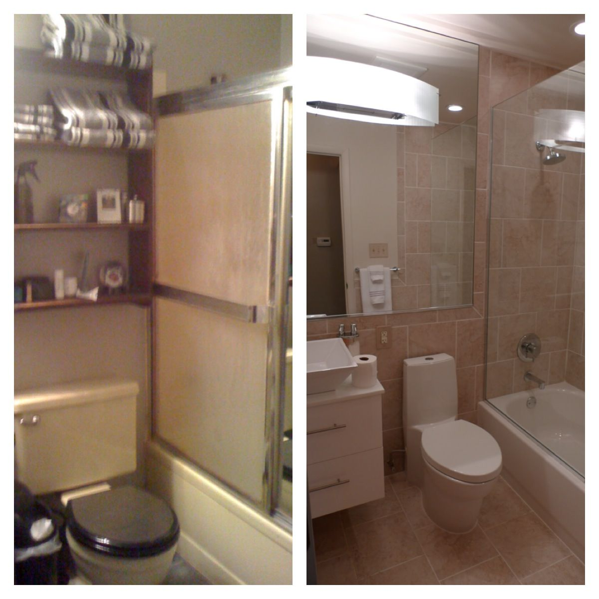 Pin By Isabella Faucett On Before After Bathroom Rehab Small Bathroom Cool Rooms