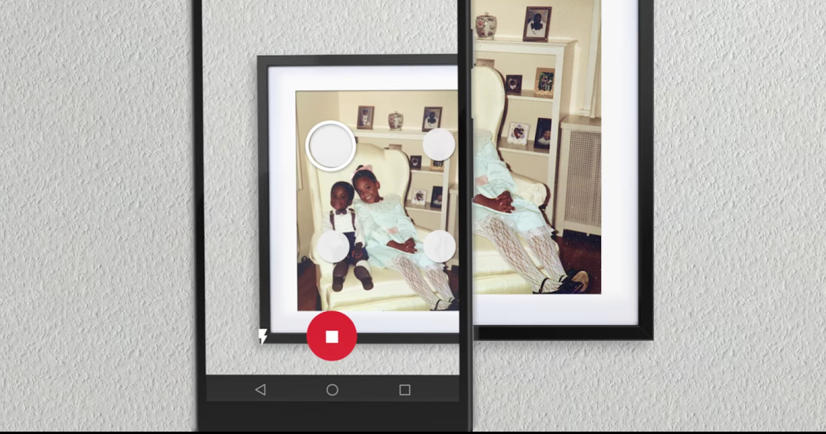 Google's PhotoScan app brings high quality scanning of