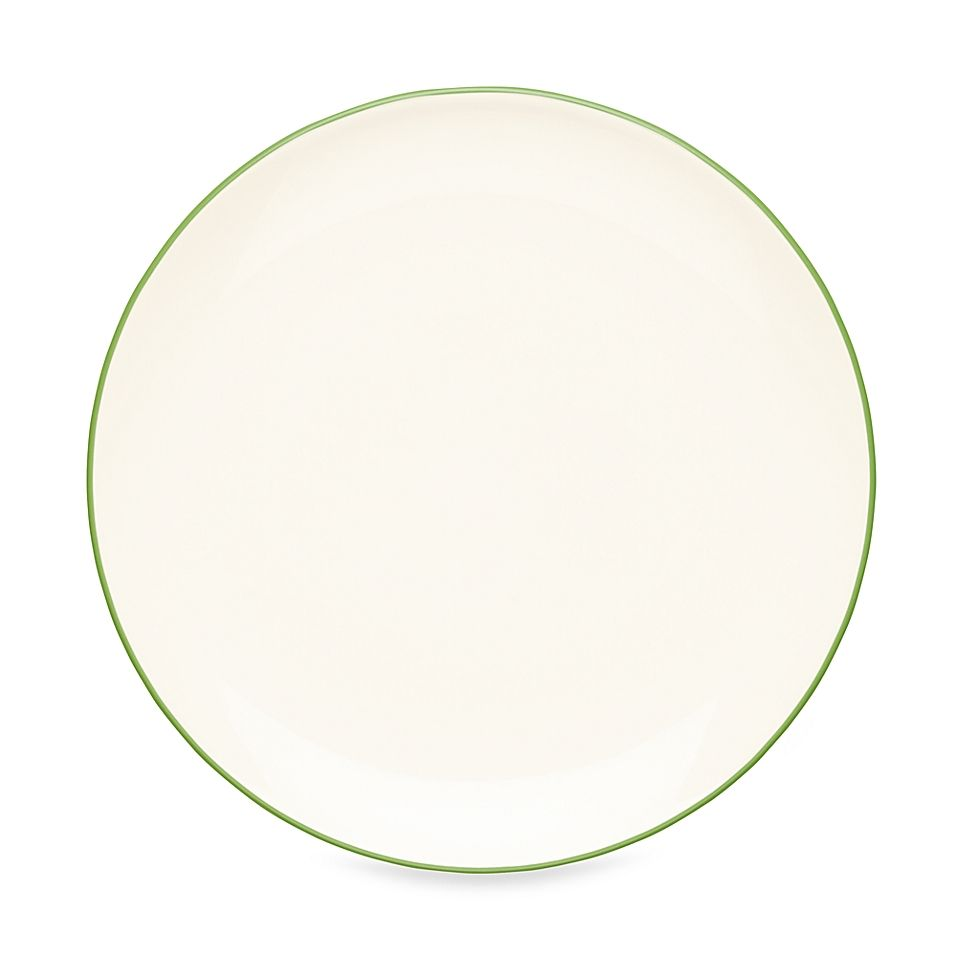Noritake Colorwave Coupe Salad Plate In Apple