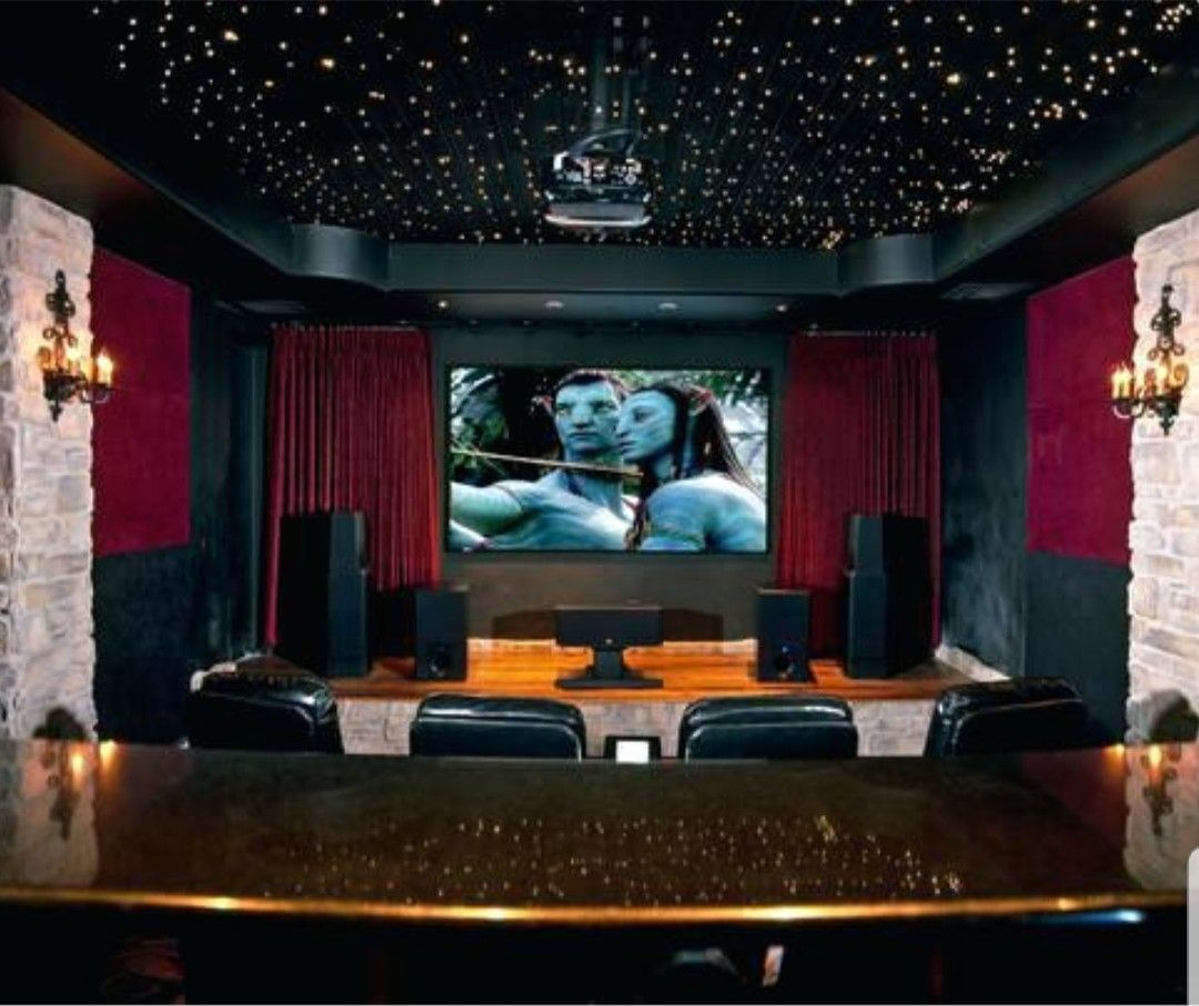 21 Incredible Home Theater Design Ideas Decor Pictures: Pin By Amy Hauk On Theater