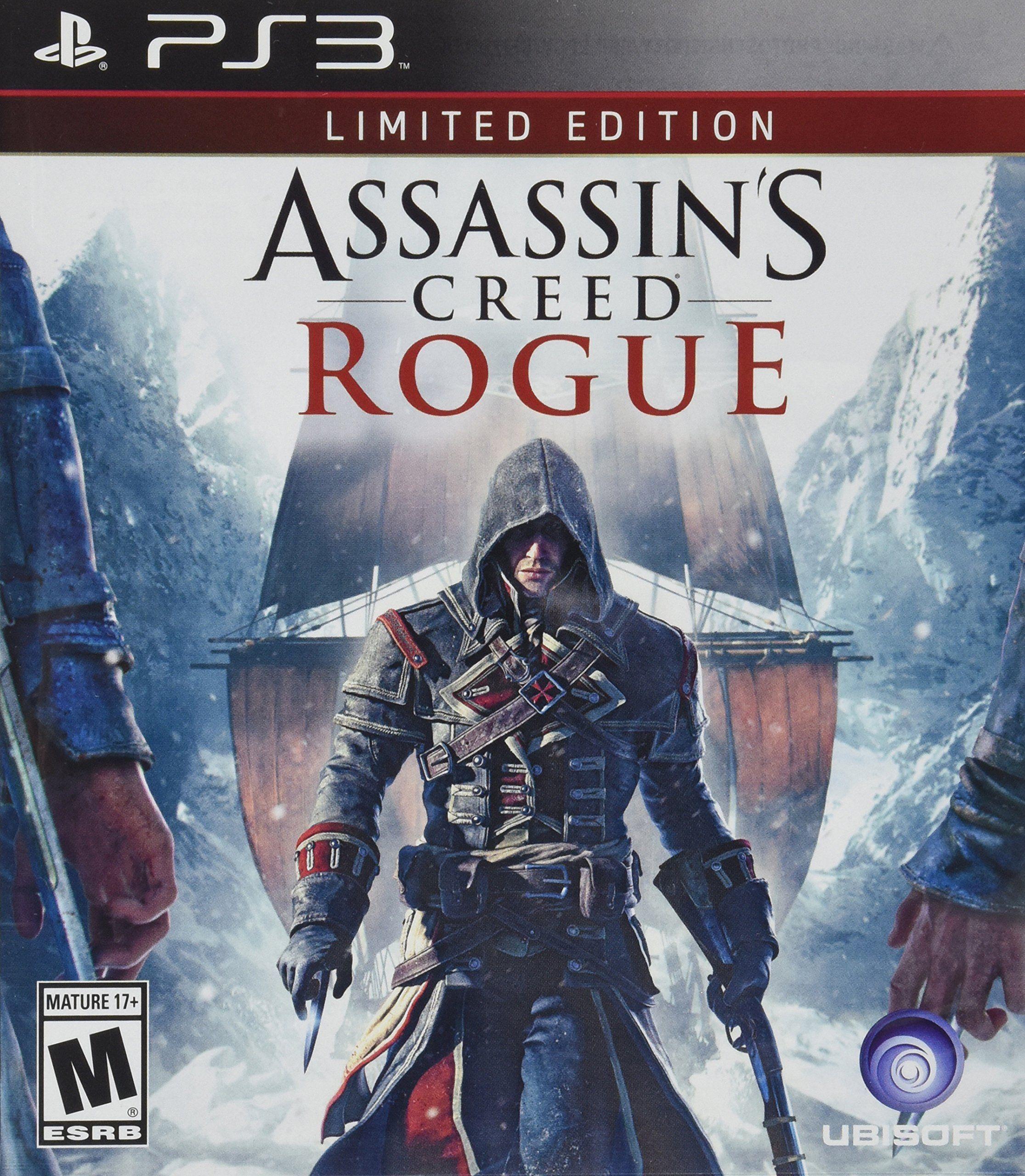 Amazon Com Assassin S Creed Rogue Playstation 3 Video Games