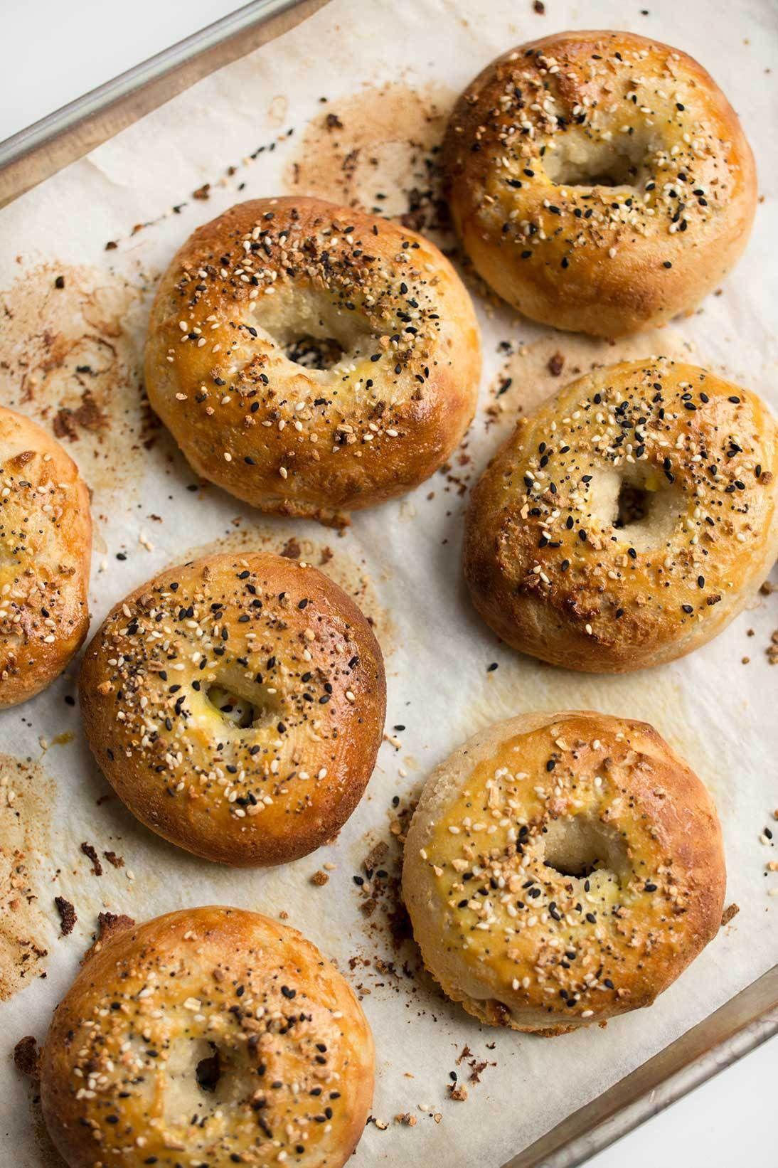 Grain-Free Everything Bagels #glutenfreebreakfasts