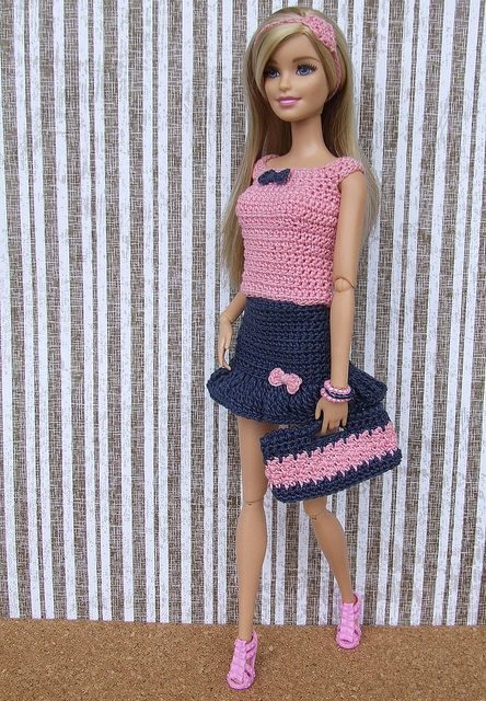 PK134 - R85 | Barbiekleidung, Barbie kleider und Puppenkleidung