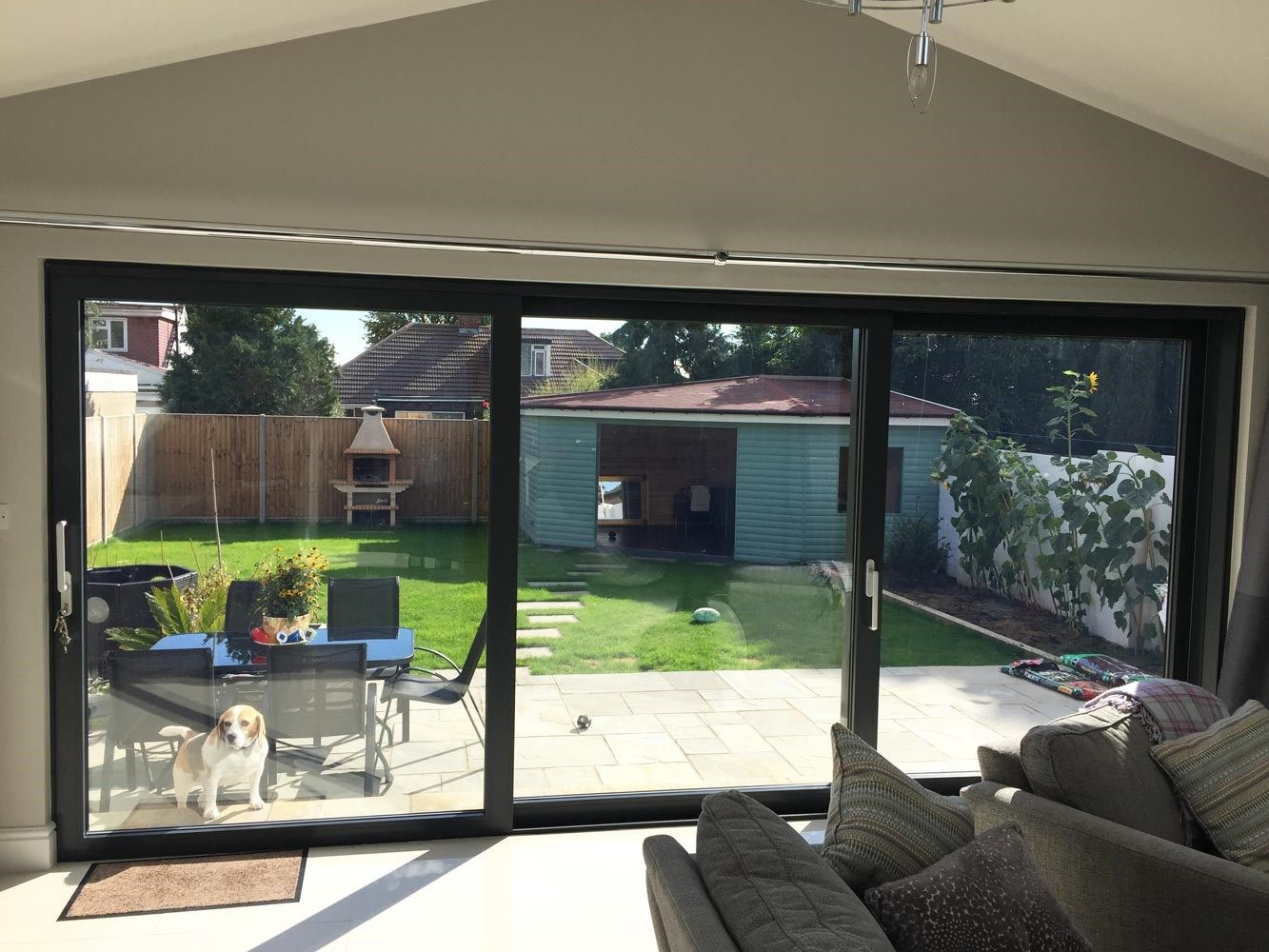 Double Glazed Aluminium Sliding Doors From Schueco Manufactured