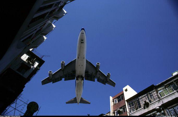 Kai Tak !!  - NCA Boeing 747