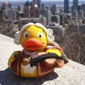 Rubber Duck Lady Liberty  Paperella di gomma
