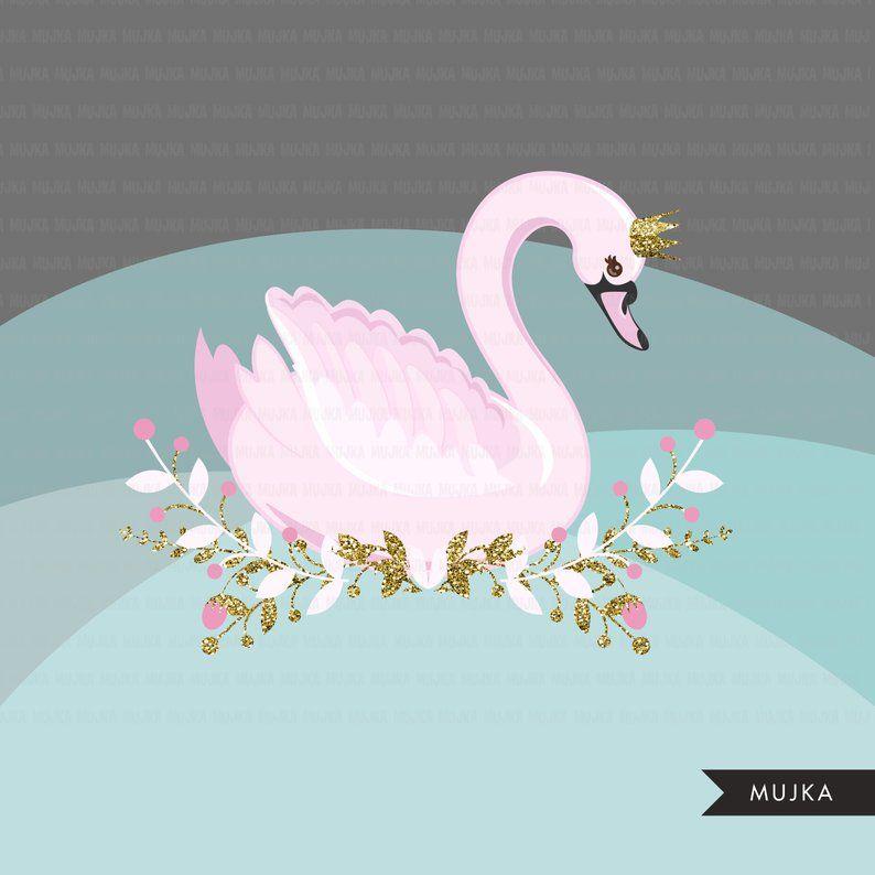 Swan Princess Clipart