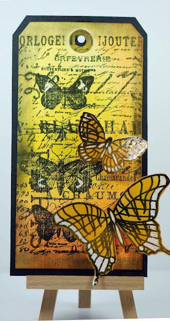 Butterflies from Eileen's Crafty Zone