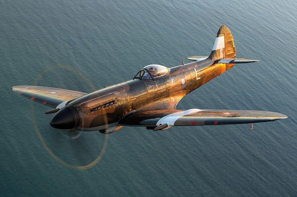 Spitfire NH749 powered by a Rolls Royce Griffon engine,John M Dibbs