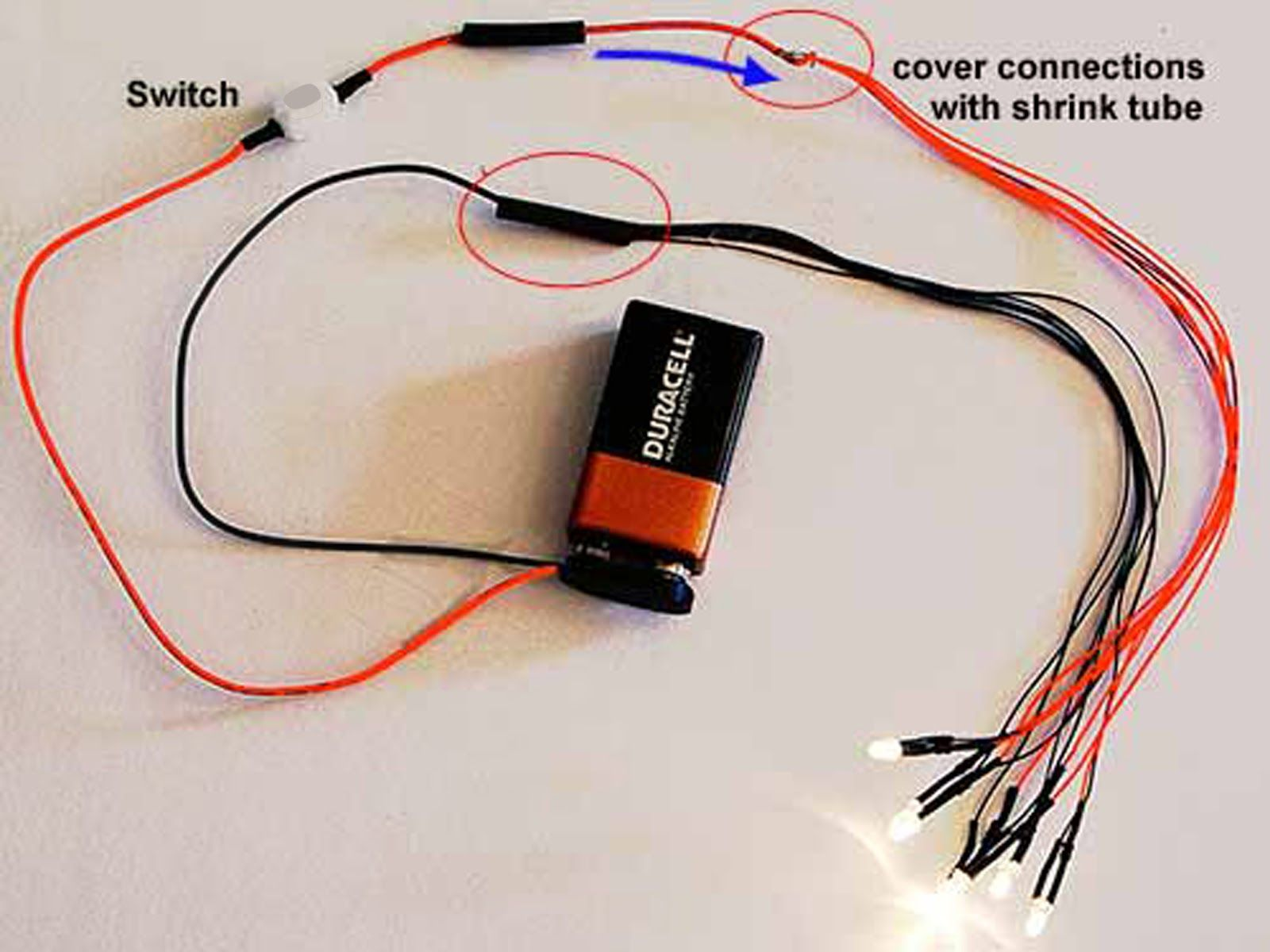 Led Wiring For Dollhouse Miniatures Part 2 Where To Begin House