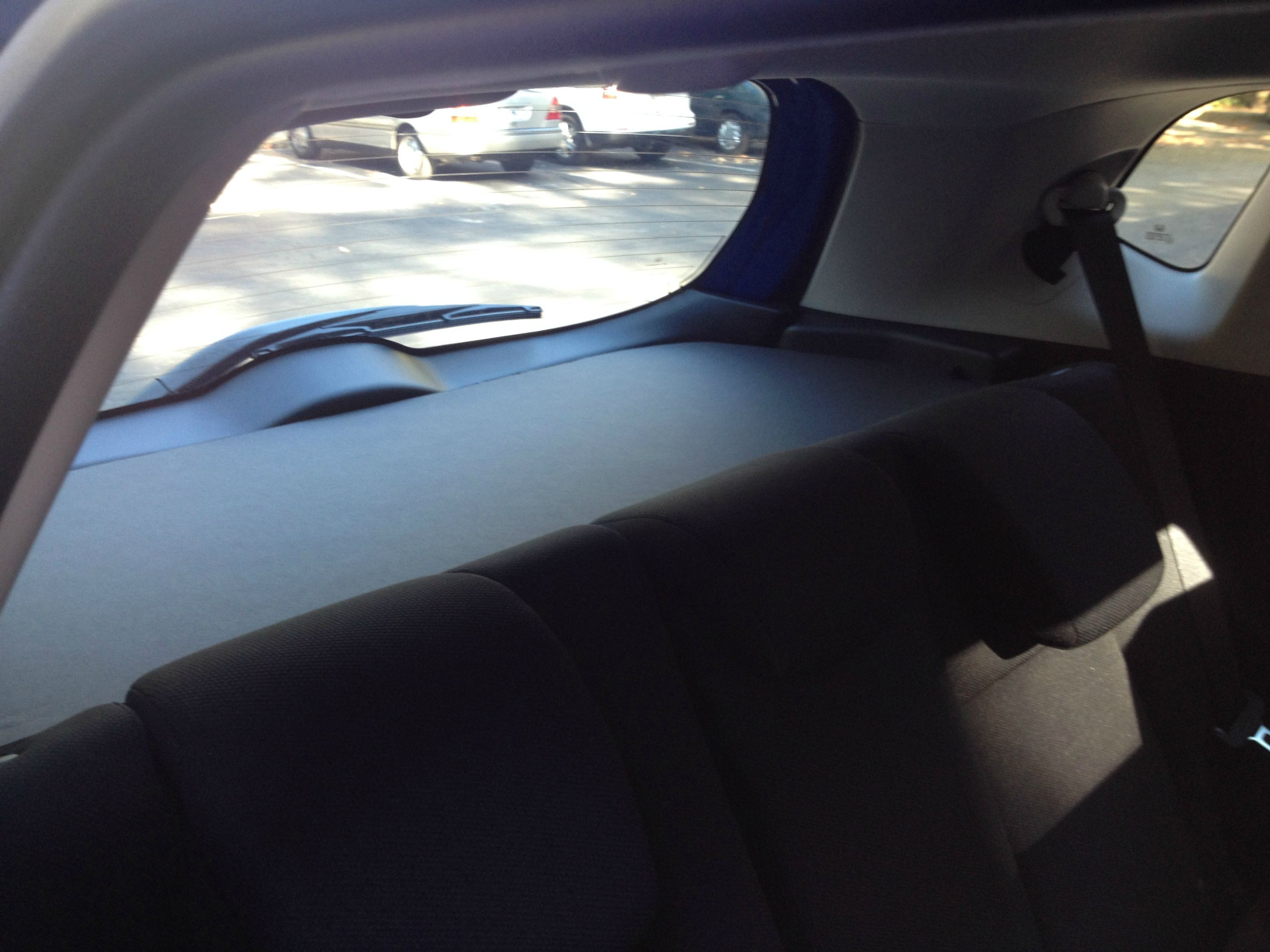 $11 DIY Cargo Cover   Unofficial Honda FIT Forums