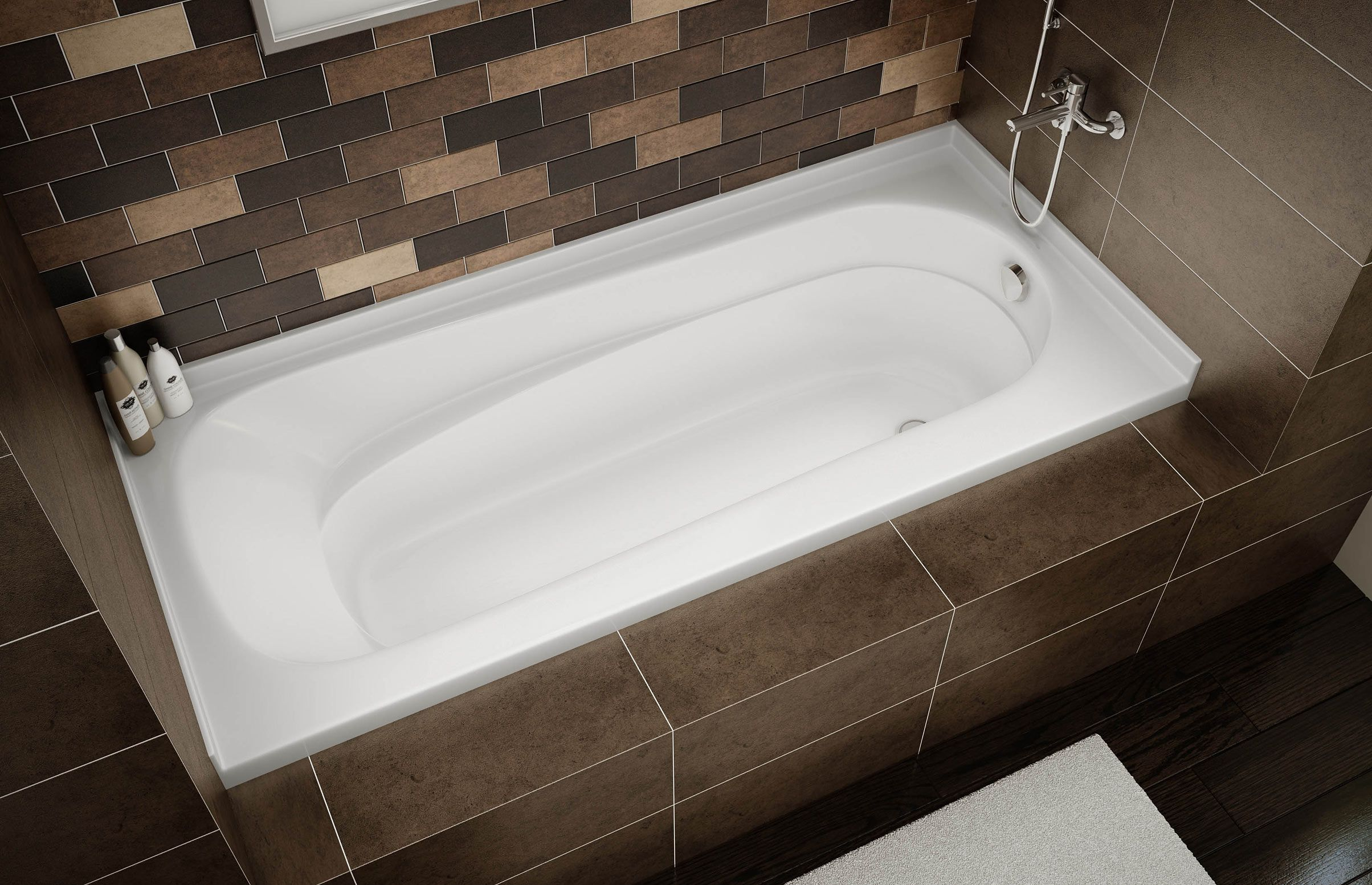 PACIFIC LINE (PLN) Alcove bathtub - MAAX Professional | master ...