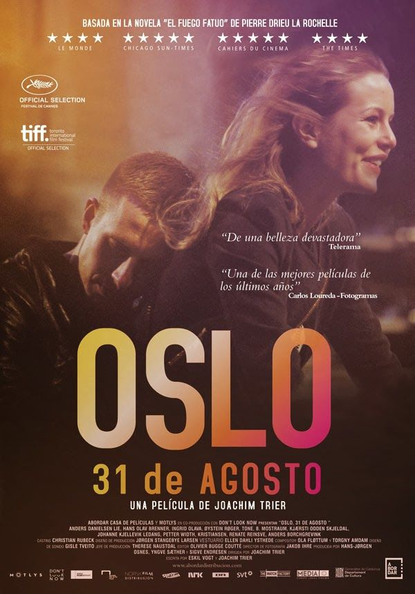 Cartel de 'Oslo, 31 de agosto'