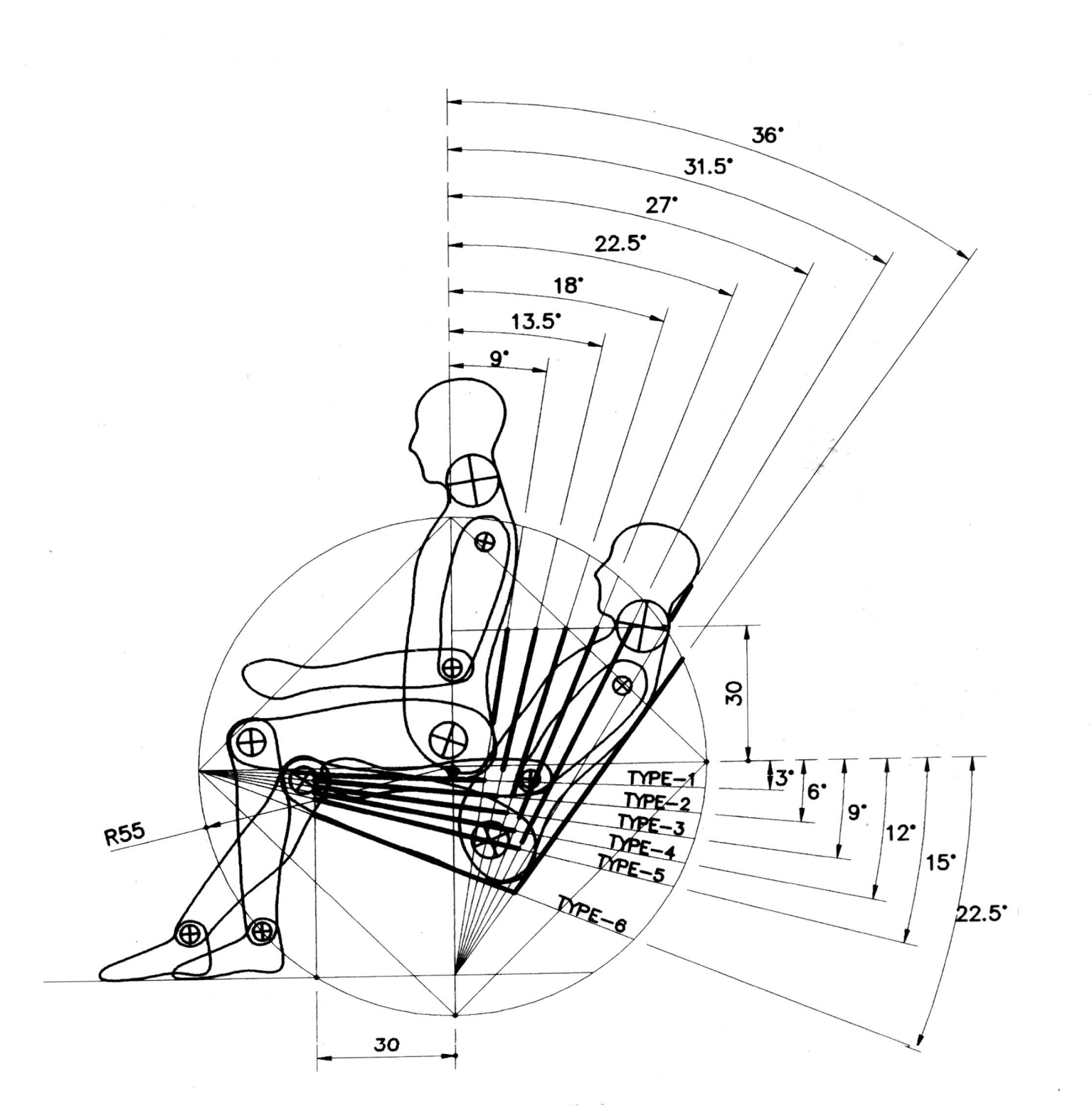 Ergonomic Chair Design Dimensions Chicco Hook On Mas Chairdesign