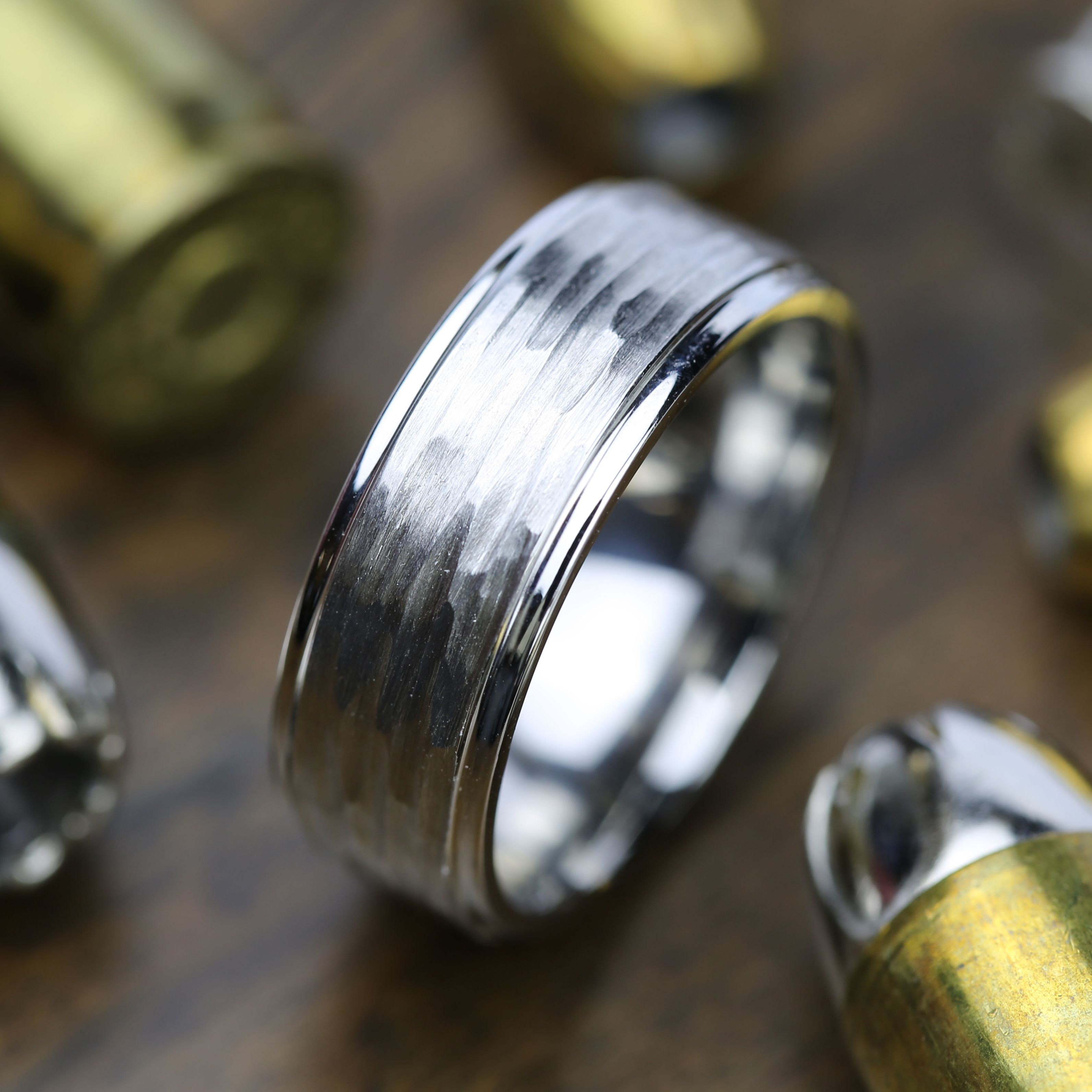 Men s wedding rings don t have to be boring Show off your unique