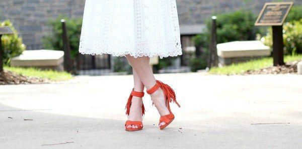 65da6a1638b ASOS White Lace Midi Dress - Life With Emily