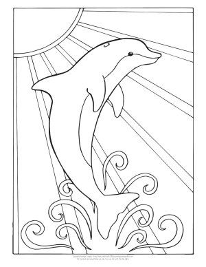 Dolphin Coloring Pages Dolphin Coloring Pages Dolphin Drawing Under The Sea Drawings