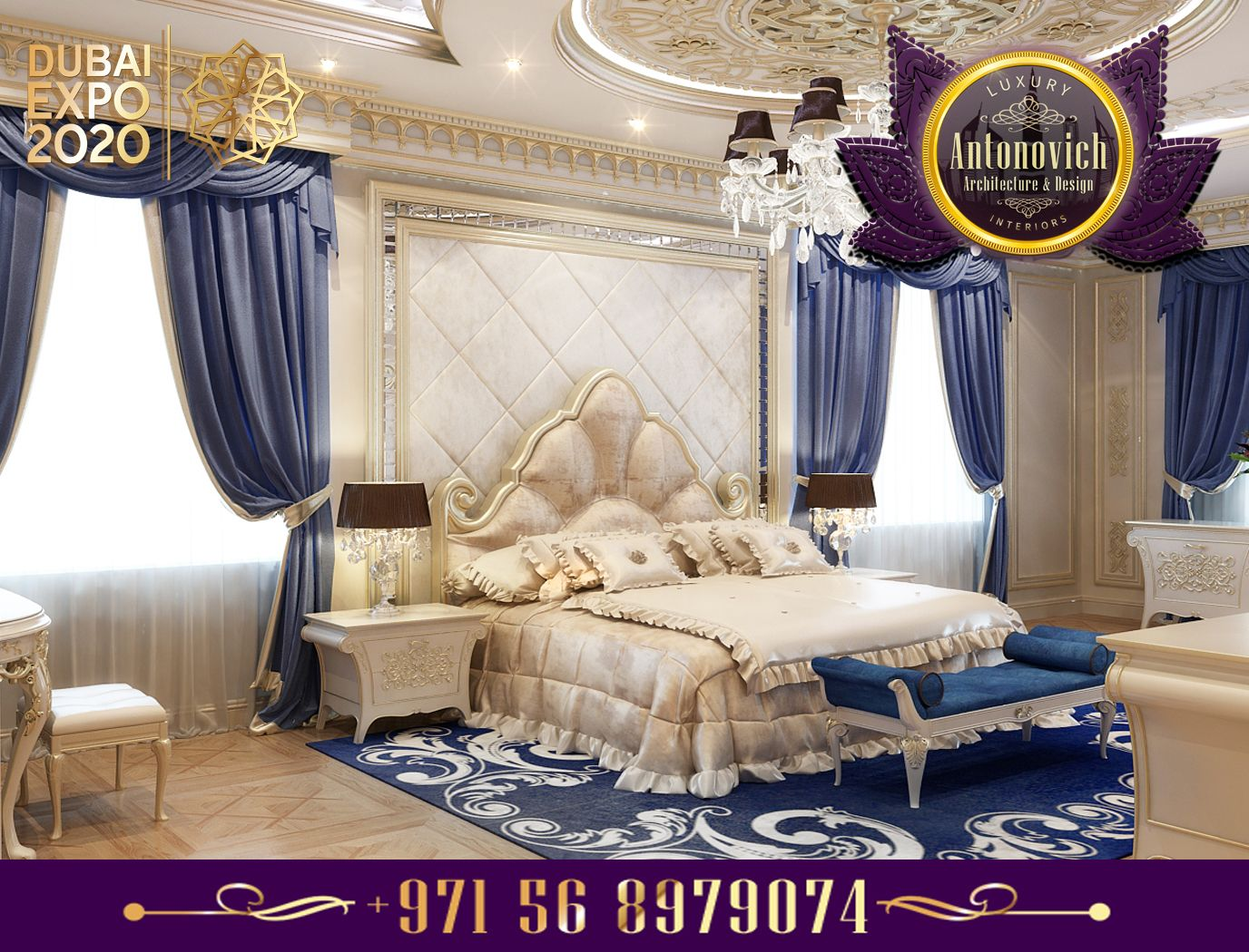 Best Pin By Luxury Antonovich Design On Gorgeous Bedrooms From Antonovich Design Master Bedroom 400 x 300