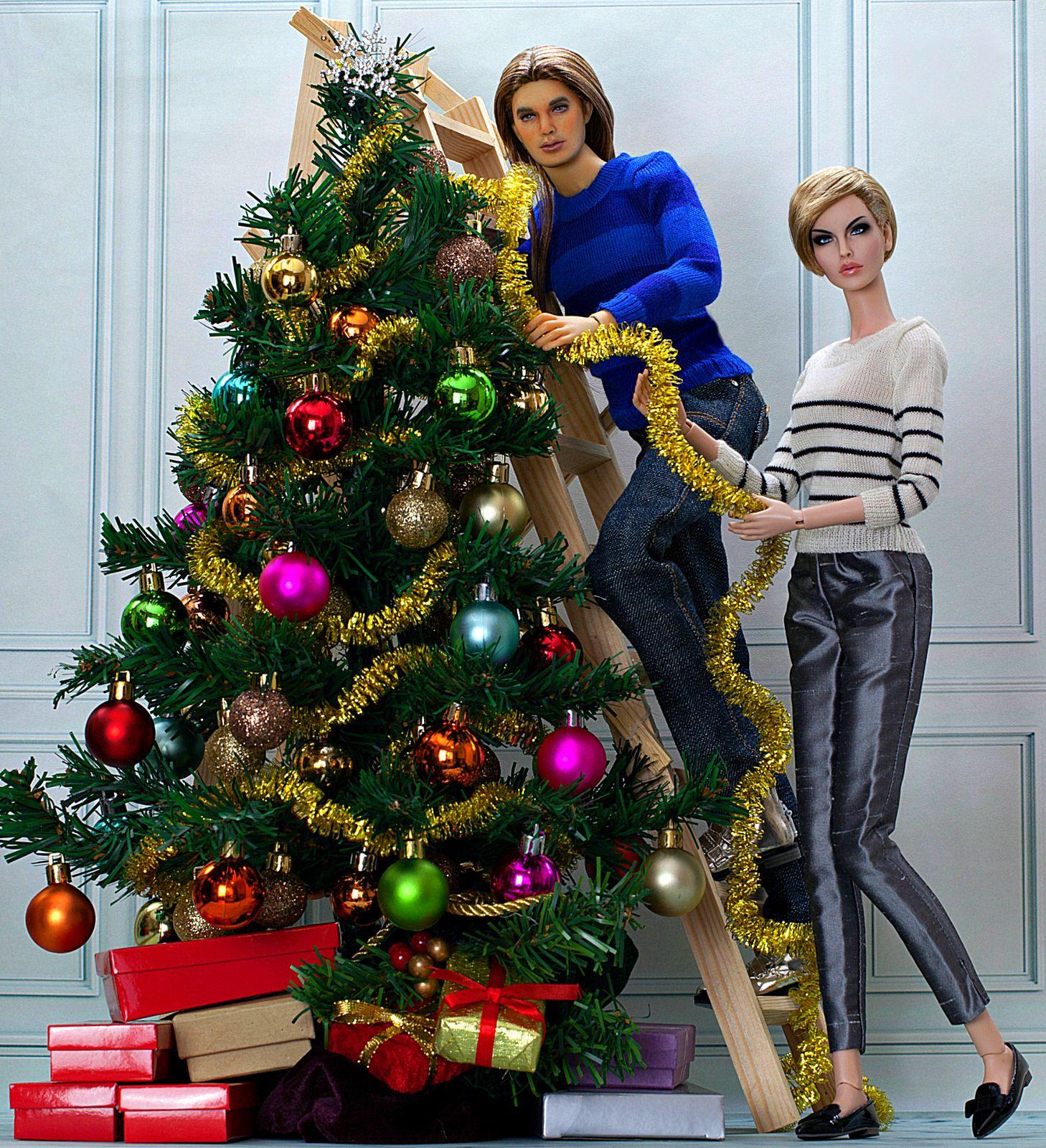 All I Want For Christmas Is You Christmas Tree Barbie House Christmas