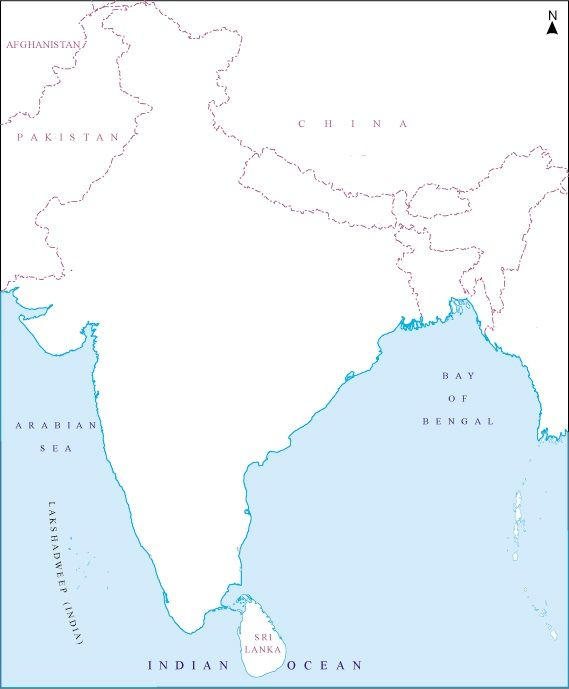 Blank map of india with rivers and mountains google search blank map of india with rivers and mountains google search gumiabroncs Choice Image