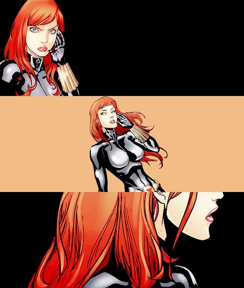 (Natasha Romanoff inBlack Widow and the Marvel Girls #001)