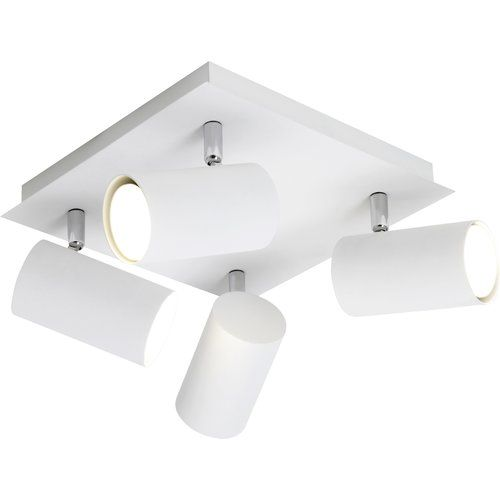 Rockingham 4 Light Ceiling Spotlight Bright Life Colour Frame White Ceiling Spotlights Ceiling Lights Led Ceiling Spotlights