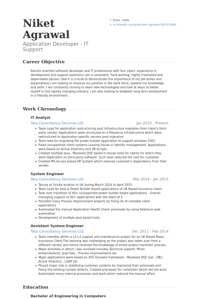 Credit Analyst Resume Analyst Resume Samples Visualcv Database Sample Informatica Etl