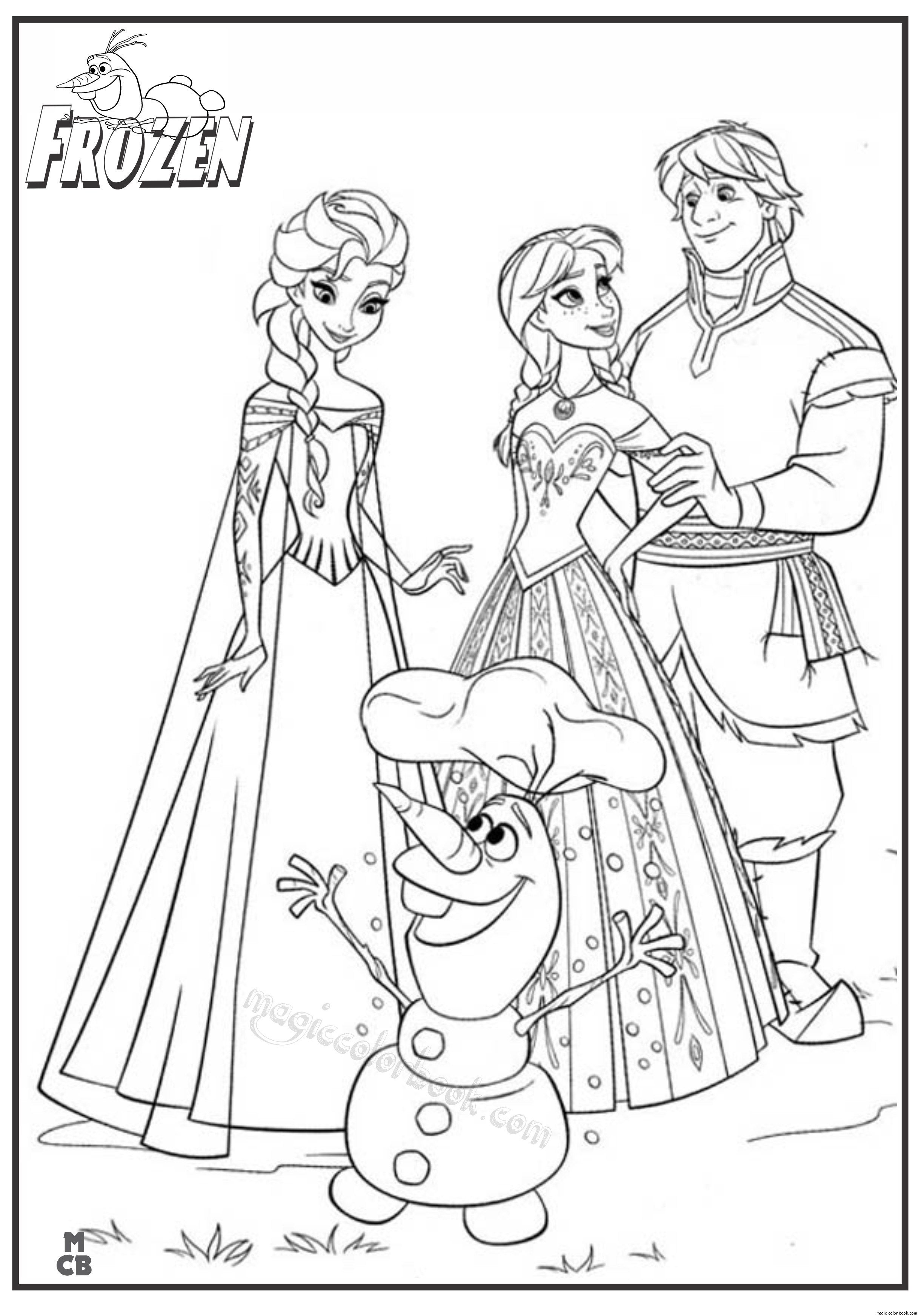 - 24+ Excellent Picture Of Frozen Coloring Pages Free Elsa