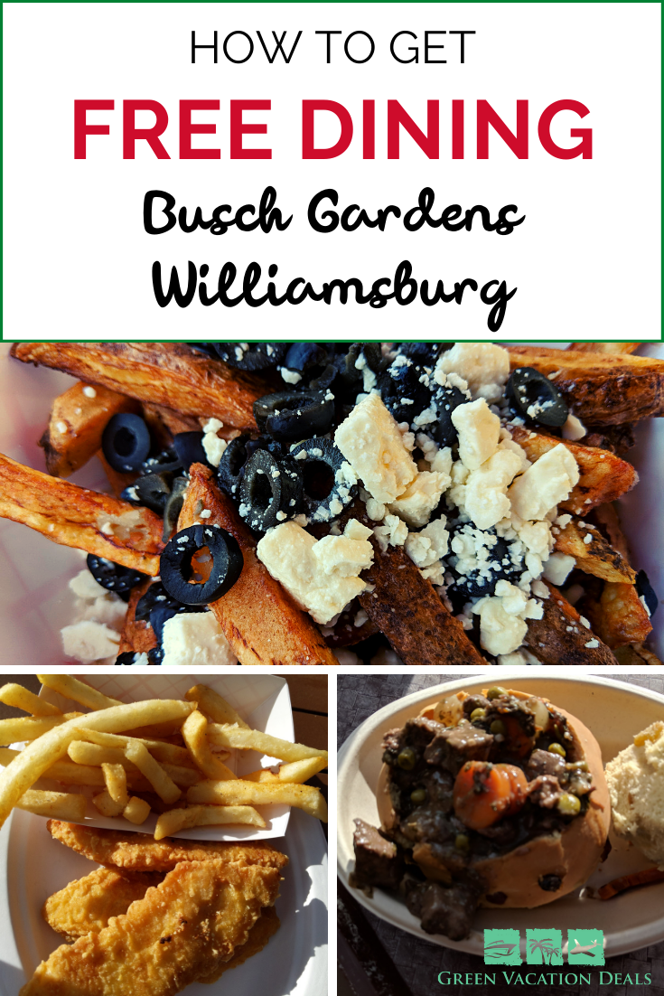 How To Get Free Busch Gardens Tickets Williamsburg