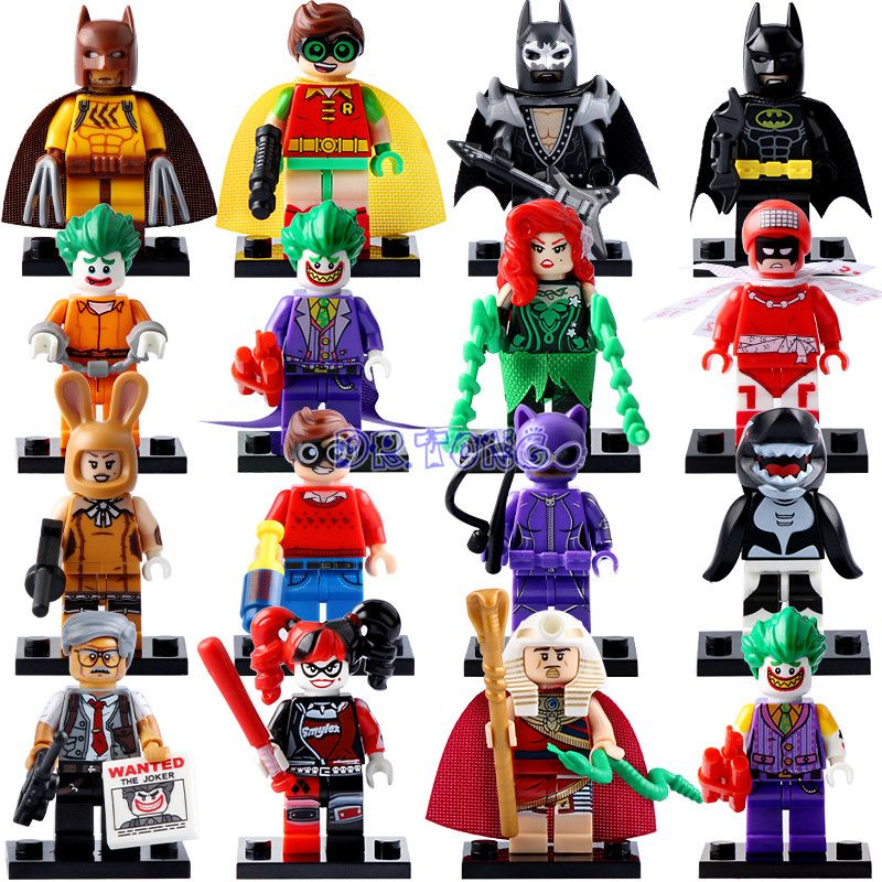 DR.TONG 2017 New Batman Movie Super Heroes Robin Catwoman ...