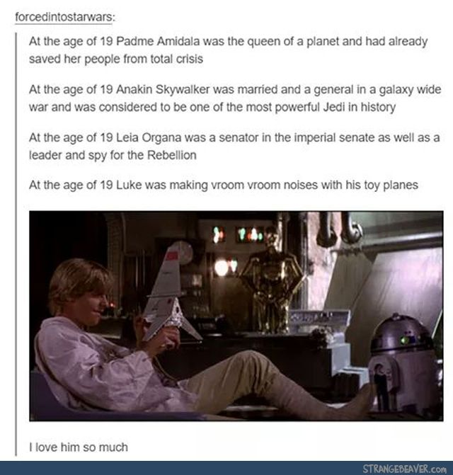 Tumblr Tuesday 3 1 With Images Star Wars Humor Star Wars Memes Star Wars