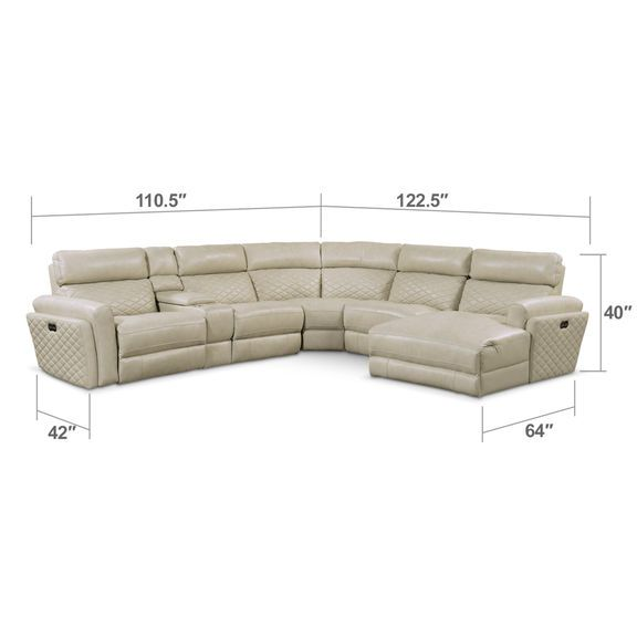 Excellent Living Room Furniture Catalina 6 Piece Power Reclining Pdpeps Interior Chair Design Pdpepsorg