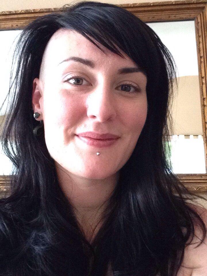 Hair by Misha,  Model: Ruthie Bones, Location: The Spanish Fly Hair Garage, Sacramento CA
